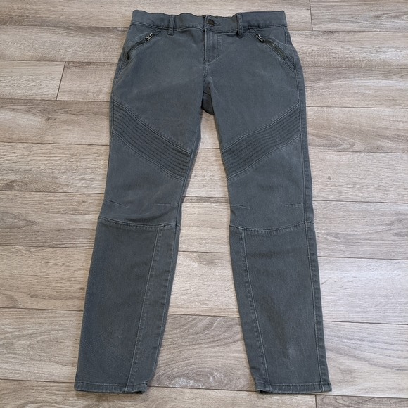 EXPRESS Mid-Rise Ankle Legging Jeans